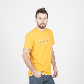 ABK Mäki Camiseta Hombre, amarillo